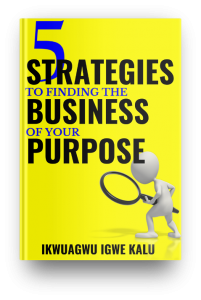 strategies to finding the business of your purpose, ebook, ikwuagwu igwe kalu,