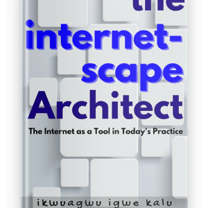 architect, internetscape architect, ebook, ikwuagwu igwe kalu,